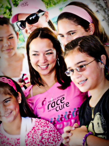 Adamari Lopez en Race for The Cure 2008