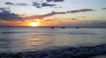 Atardecer en Crash Boat, Aguadilla