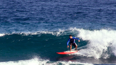 Surfing en Playa Jobos